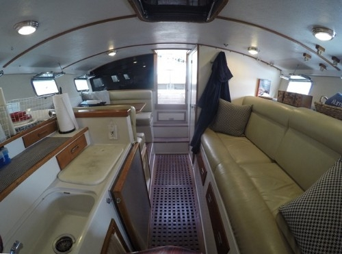 Cabin View Aft Facing