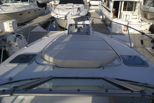 Lounging Foredeck